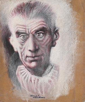 Donal O'Sullivan, Samuel Beckett at Morgan O'Driscoll Art Auctions