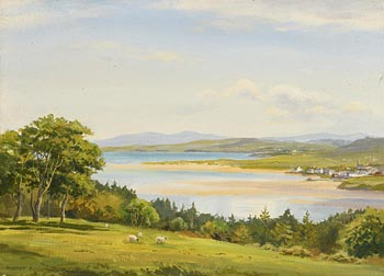 Robert Egginton, Dunfanaghy from Hornhead, Donegal at Morgan O'Driscoll Art Auctions