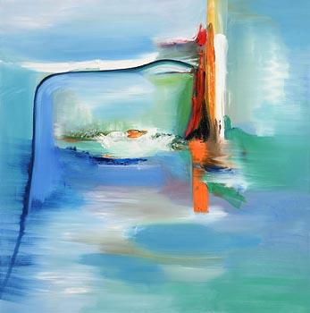 Majella O'Neill Collins, Crossing from Turk Head (2018) at Morgan O'Driscoll Art Auctions