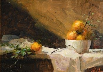 Mat Grogan, Still Life on Tabletop at Morgan O'Driscoll Art Auctions