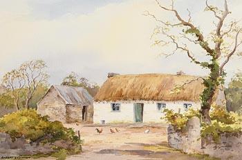 Robert Egginton, Cottage near Ardara at Morgan O'Driscoll Art Auctions