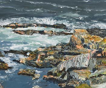 Dorothee Roberts, East End, Inisbofin, Co Galway at Morgan O'Driscoll Art Auctions