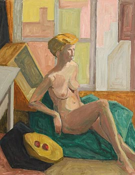 Evelyn Street, Seated Female Nude at Morgan O'Driscoll Art Auctions