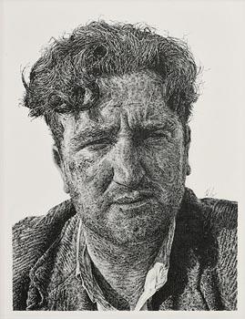 John Rooney, Brendan Behan at Morgan O'Driscoll Art Auctions