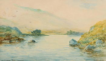 Alexander Williams, Lake Glendalough, Recess, Connemara at Morgan O'Driscoll Art Auctions