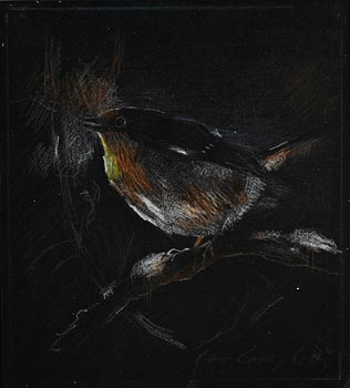 Con Campbell, Robin Red Breast at Morgan O'Driscoll Art Auctions