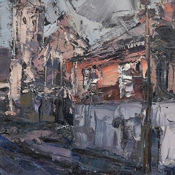 Aidan Bradley, The Corner House (2009) at Morgan O'Driscoll Art Auctions