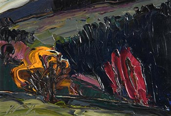 Peter Collis, Wicklow Landscape at Morgan O'Driscoll Art Auctions