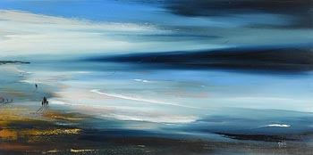 Paula McKinney, First Light in the Atlantic Coast at Morgan O'Driscoll Art Auctions