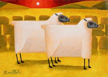 Graham Knuttel, Sunset at Morgan O'Driscoll Art Auctions