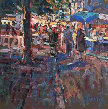 Arthur K. Maderson, Le Marche de Nuit at Morgan O'Driscoll Art Auctions