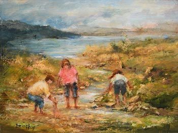 Elizabeth Brophy, Foraging at Morgan O'Driscoll Art Auctions