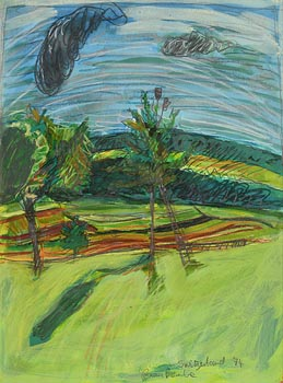 Brian Bourke, Bavarian Garden (1974) at Morgan O'Driscoll Art Auctions