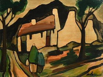 Markey Robinson, Shawlies Returning Home at Morgan O'Driscoll Art Auctions