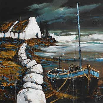 J.P. Rooney, Annie's Lonely Shore at Morgan O'Driscoll Art Auctions