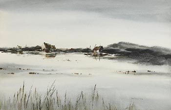 Phyllis del Vechio (20th/21st Century), The Crofters at Morgan O'Driscoll Art Auctions