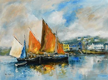 Niall Campion, Kinsale Harbour, Co. Cork at Morgan O'Driscoll Art Auctions