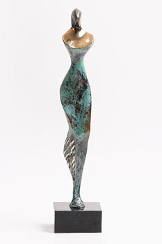 Stanislaw Wysocki, Female Figure (2007) at Morgan O'Driscoll Art Auctions