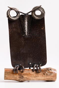 Kelvin Brodie Hunt, Owl at Morgan O'Driscoll Art Auctions