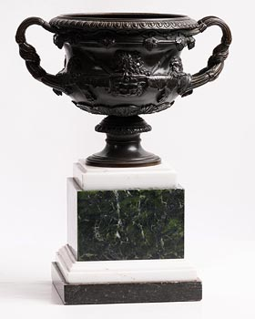 Warwick Vase c.1900 at Morgan O'Driscoll Art Auctions