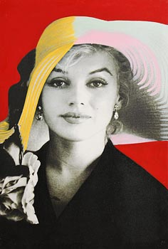 Steve Kaufman (1960-2010), Marilyn Monroe at Morgan O'Driscoll Art Auctions