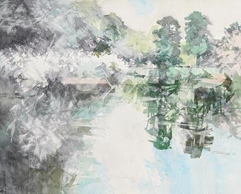 Terence P. Flanagan, Reflections (1998) at Morgan O'Driscoll Art Auctions