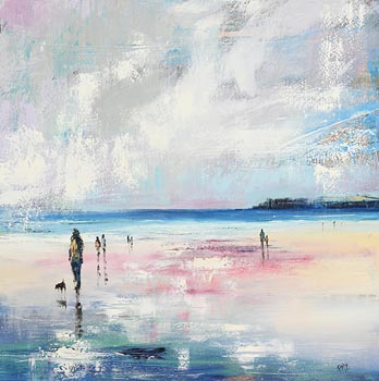 Paula McKinney, A Warm Summer's Evening at Morgan O'Driscoll Art Auctions