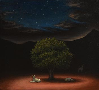 Robert Ryan, The Sacred Tree at Morgan O'Driscoll Art Auctions