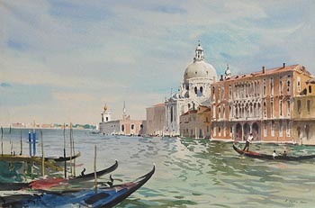 John Barrie Haste, Venice at Morgan O'Driscoll Art Auctions