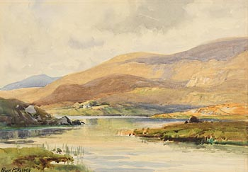 Frank McKelvey, Connemara Lake at Morgan O'Driscoll Art Auctions