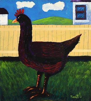 Graham Knuttel, Hen at Morgan O'Driscoll Art Auctions