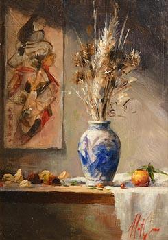 Mat Grogan, Still Life at Morgan O'Driscoll Art Auctions