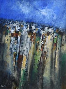 Manus Walsh, Cerros Altos, Valparaiso, Chile at Morgan O'Driscoll Art Auctions