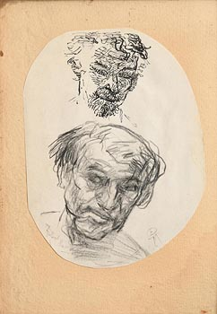 Colin Middleton, Sketch of Richard Harris at Morgan O'Driscoll Art Auctions