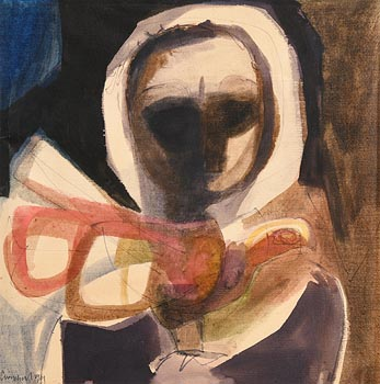 George Campbell, Warrior Series (1961) at Morgan O'Driscoll Art Auctions
