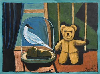 Graham Knuttel, Teddy Bear with Seagull at Morgan O'Driscoll Art Auctions