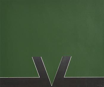 Cecil King, Intrusion Green at Morgan O'Driscoll Art Auctions