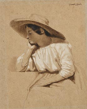 Albert Lynch, Peruvian Girl at Morgan O'Driscoll Art Auctions