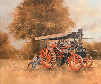 Peter Miller, Traction Engine at Great Eccleston Show at Morgan O'Driscoll Art Auctions