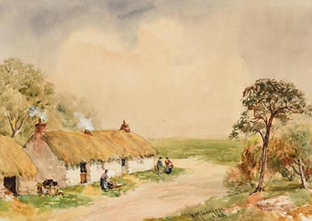 William Bingham McGuinness, The Homestead at Morgan O'Driscoll Art Auctions