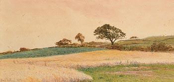 Henry Albert Hartland, Landscape (1887) at Morgan O'Driscoll Art Auctions