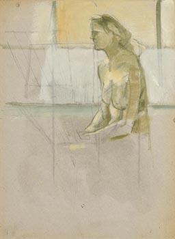 Barbara Warren, Contemplation at Morgan O'Driscoll Art Auctions