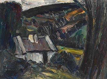 Peter Collis, Glenasmole at Morgan O'Driscoll Art Auctions