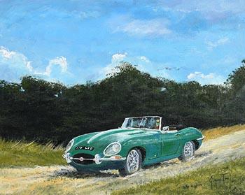 Gregory Toal, 1961 E Type Jaguar Roadster V12 at Morgan O'Driscoll Art Auctions