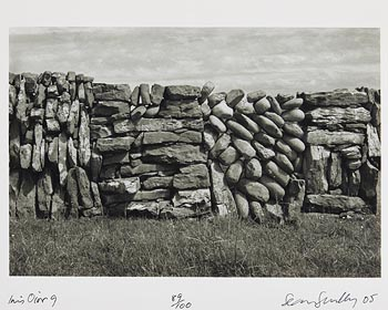 Sean Scully, Inis Oirr No.9 (2005) at Morgan O'Driscoll Art Auctions