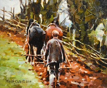 Mark O'Neill, Traditional Ways at Morgan O'Driscoll Art Auctions
