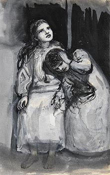 John Butler Yeats, Children in Moonlight at Morgan O'Driscoll Art Auctions