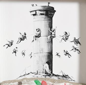 Banksy, Banksy Walled Off Hotel box set print (2017) at Morgan O'Driscoll Art Auctions