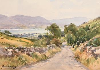 Frank McKelvey, View from the Mournes at Morgan O'Driscoll Art Auctions