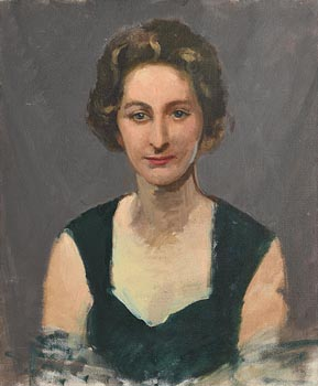 Sean O'Sullivan, Portrait of a Lady at Morgan O'Driscoll Art Auctions